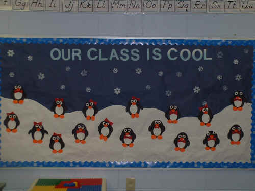 Our Class Is Cool Bulletin Board Suggestion